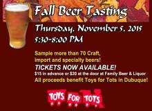 Fall Beer Tasting